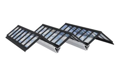 Atrium-Verglasung