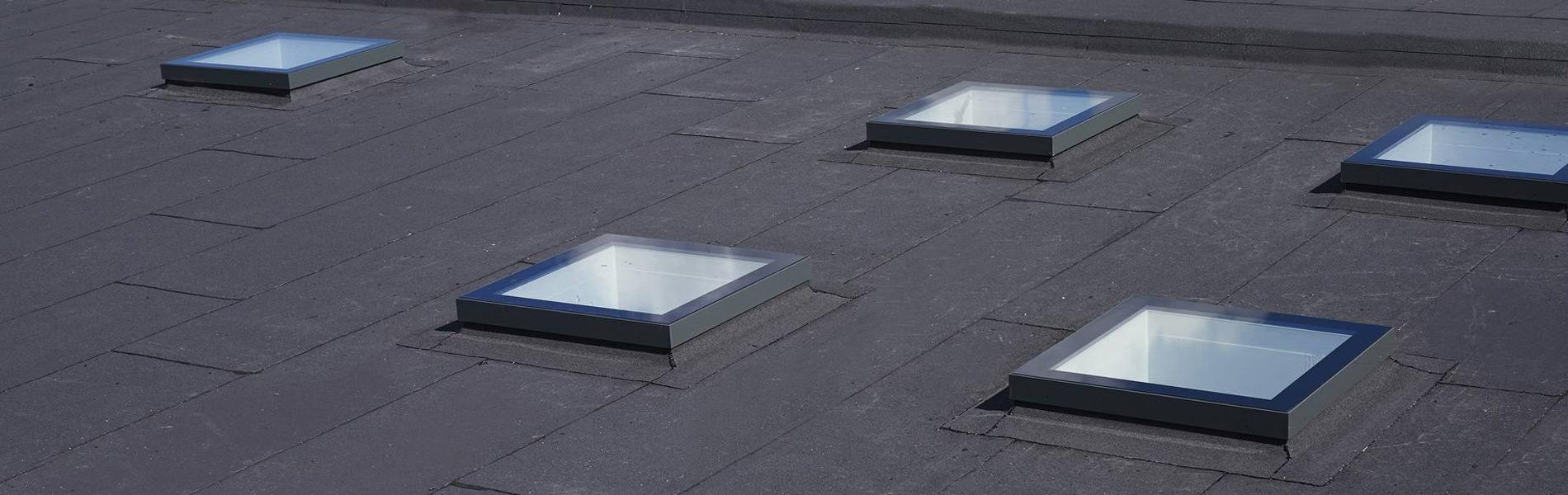 SkyVision Fixed - festverglastes Oberlicht für Flachdächer