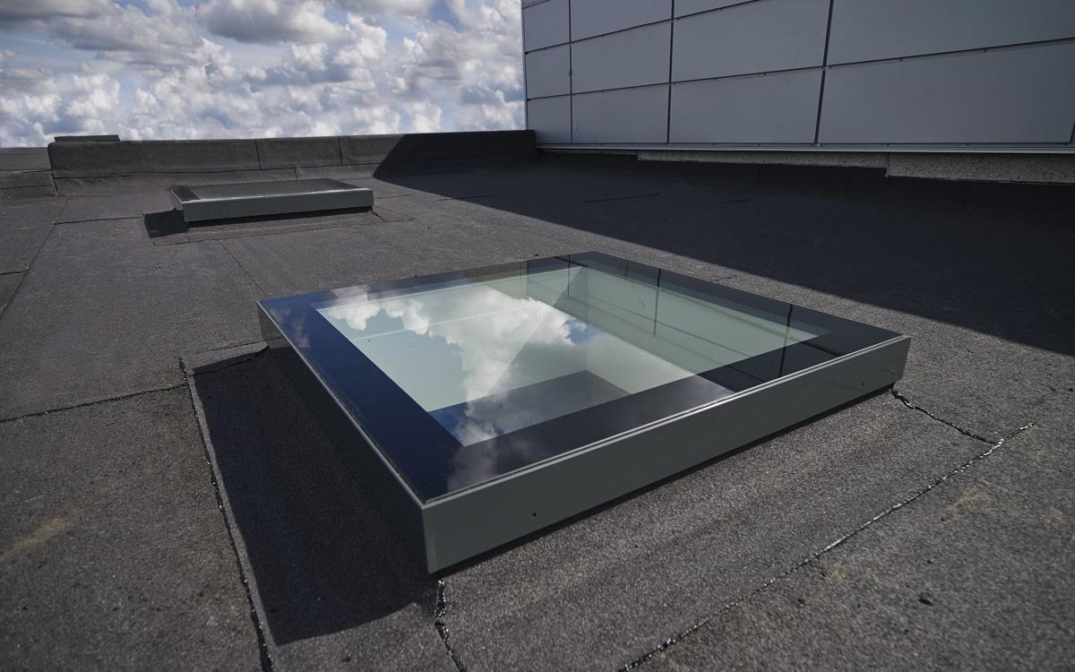 SkyVision FIXED - Flachdachfenster mit ausgezeichnetem Design
