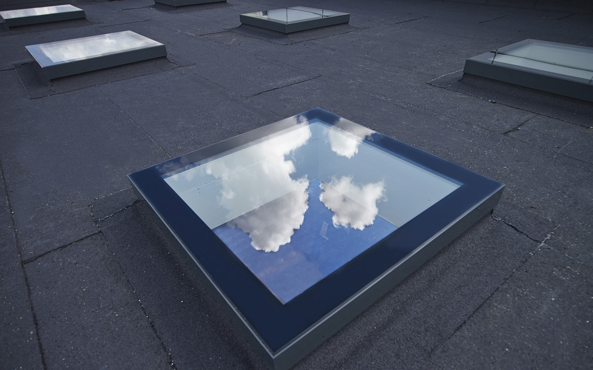 SkyVision FIXED - festverglastes Flachdachfenster