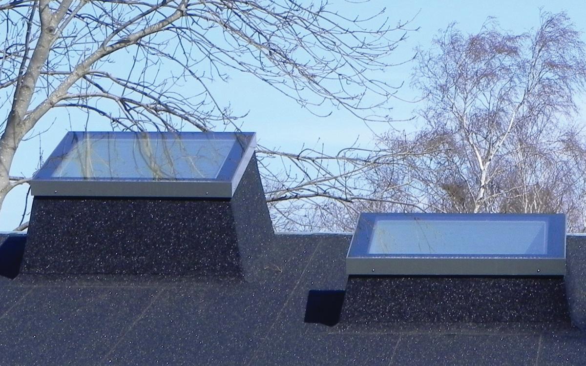 SkyVision FIXED - festverglastes Flachdachfenster für Neigungen von 0 bis 30°