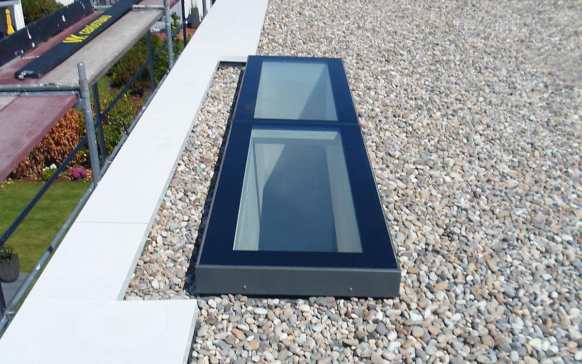 SkyVision FIXED - festverglastes Flachdachfenster für Dachneigungen von 0 bis 30°