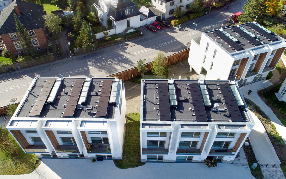 SkyVision LINEAR - Dachverglasungen im Neubautgebiet