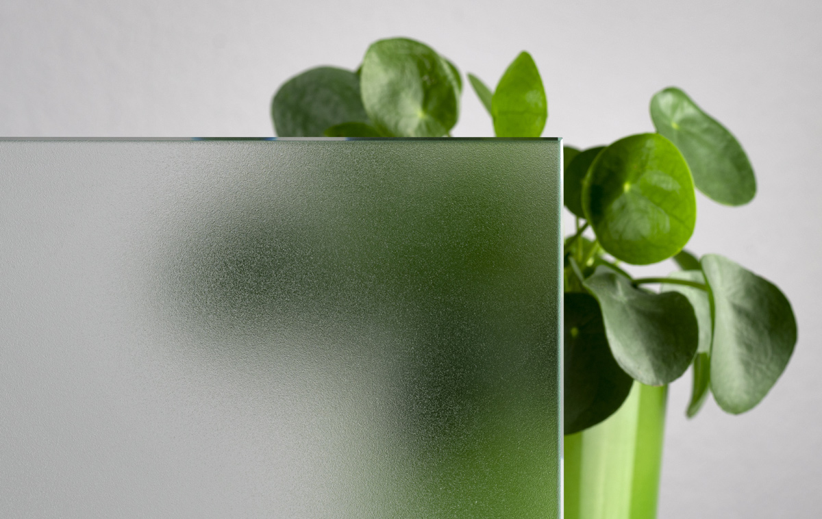 Glas LuxRaff Stone mit Rutschhemmung R12