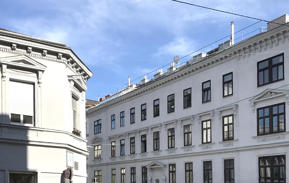 historisches Wohn- und Geschäftshaus in Wien