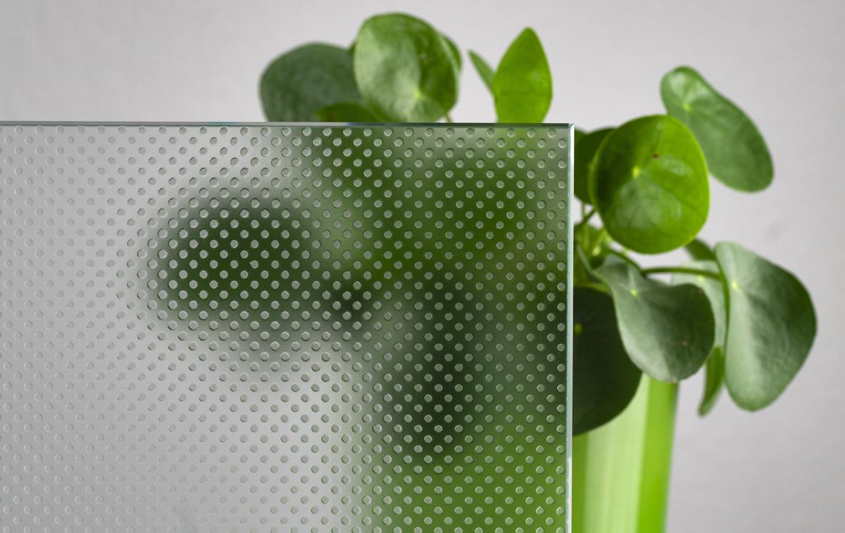 Glas Pixel Flooring mit Rutschhemmung R12