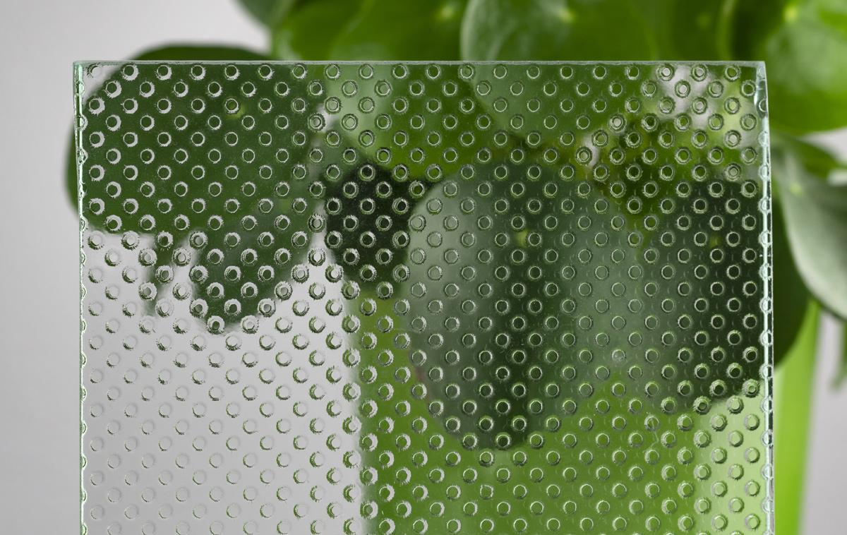 Glas Pixel Flooring ohne Rutschhemmung