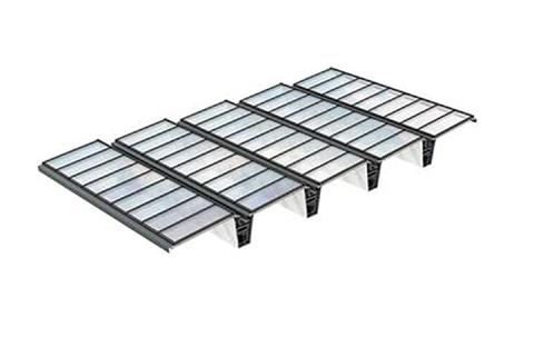 VMS Atrium-Lichtband-Lösung