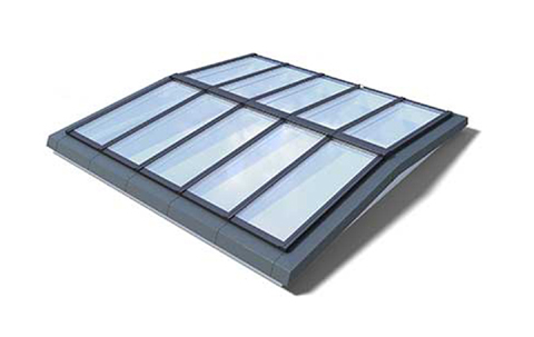 VMS Sattel-Lichtband 5° mit Träger