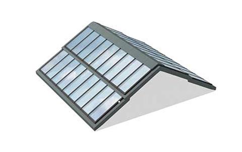 VMS Stufen Sattellichtband mit Träger