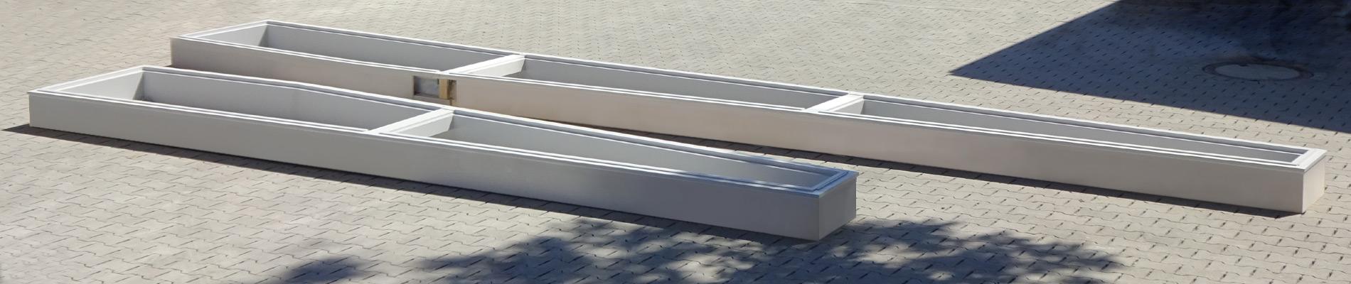 Unterkonstruktion für ein asymmetrisches Lichtband