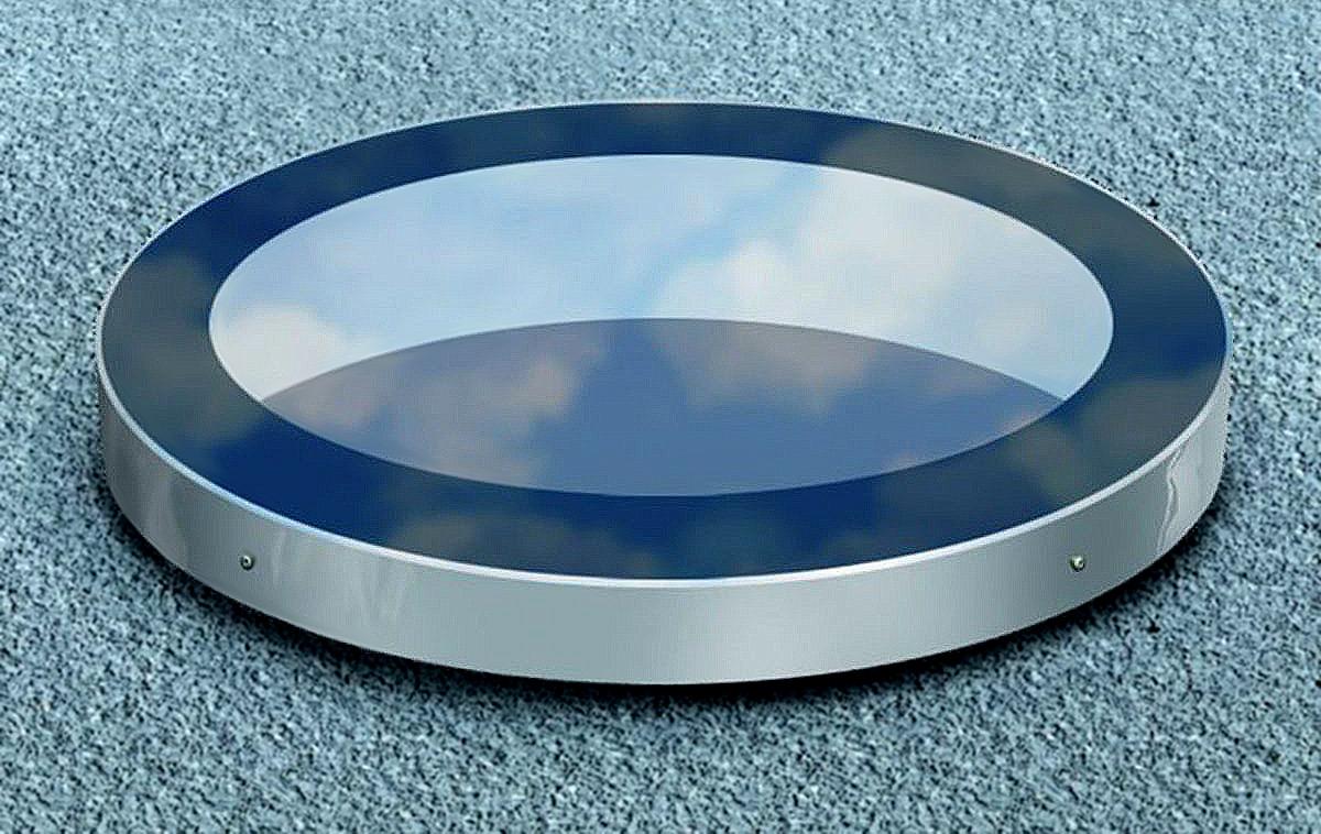 SkyVision CIRCULAR – das besondere Oberlicht für Flachdächer