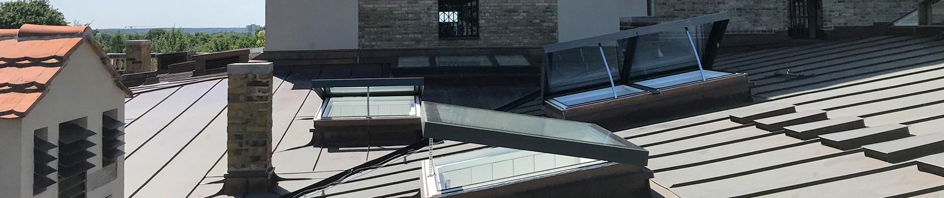 SkyVision COMFORTs auf dem Dach der Orangerie Sanssouci