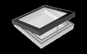 Sky-Vision FIXED – Flachdach-Design-Oberlicht zum Öffnen