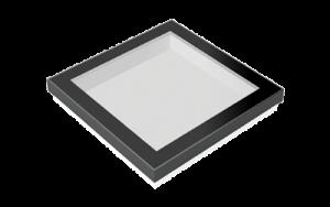 Festverglastes Design-Oberlicht für das Flachdach