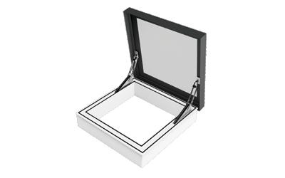 SkyVision ACCESS – Oberlicht als Dachausstiegs- und Rauchabzugsfenster