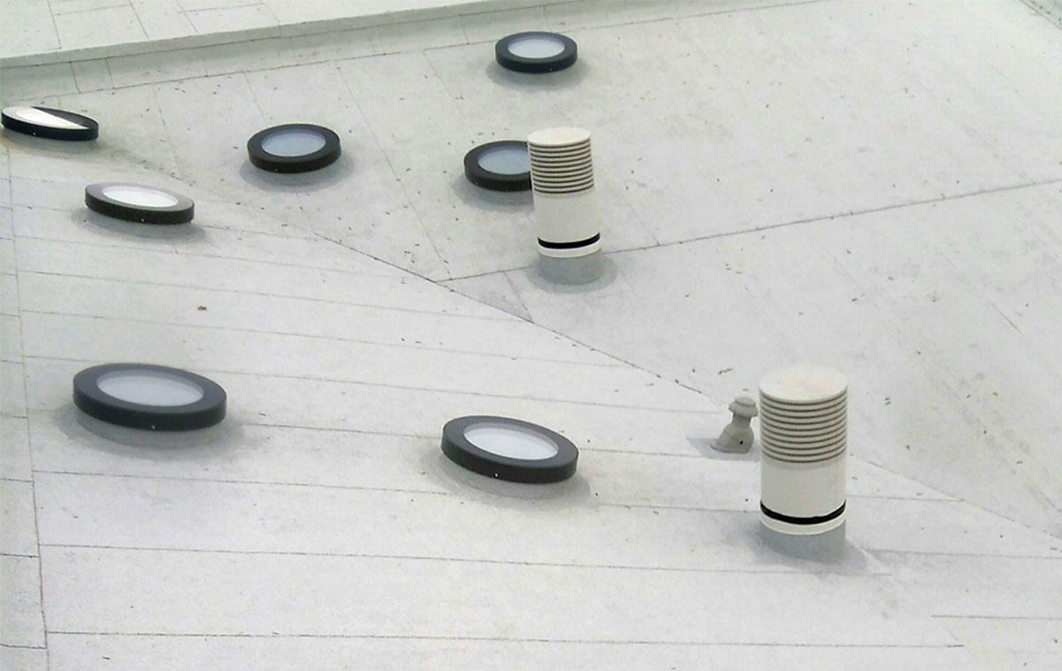 SkyVision CIRCULAR - runde Design-Oberlichter für Neigungswinkel bis 30°