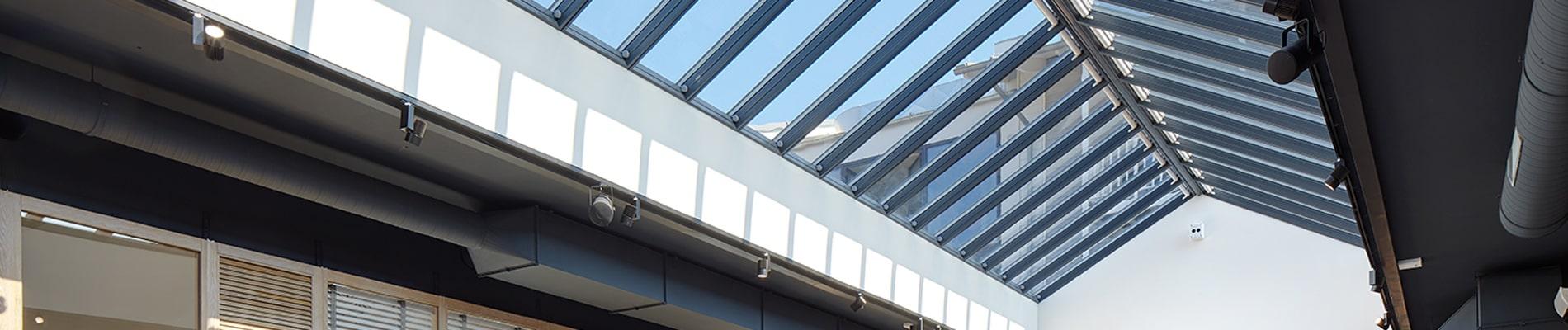 VMS VELUX Modular Skylight Sattel-Lichtband