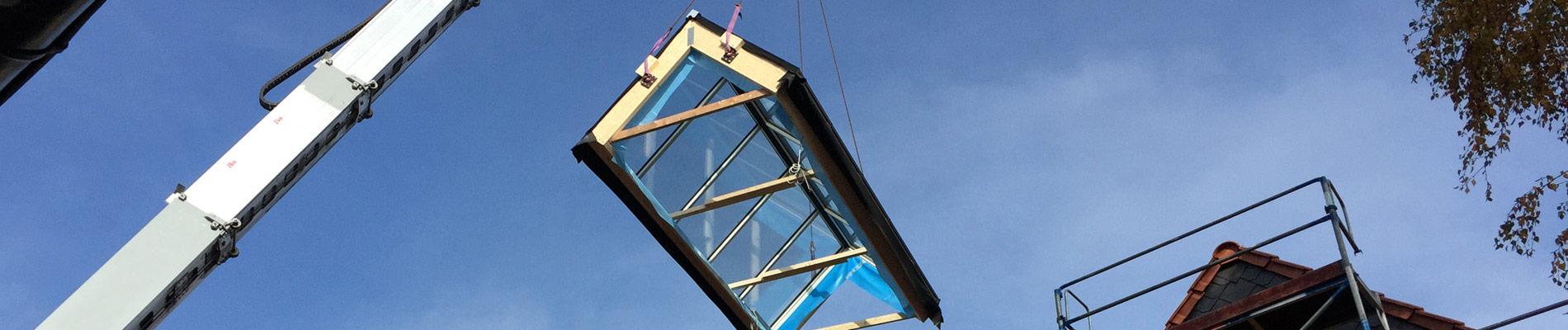 GLASOLUX Montage für anspruchsvolle Dachverglasungen