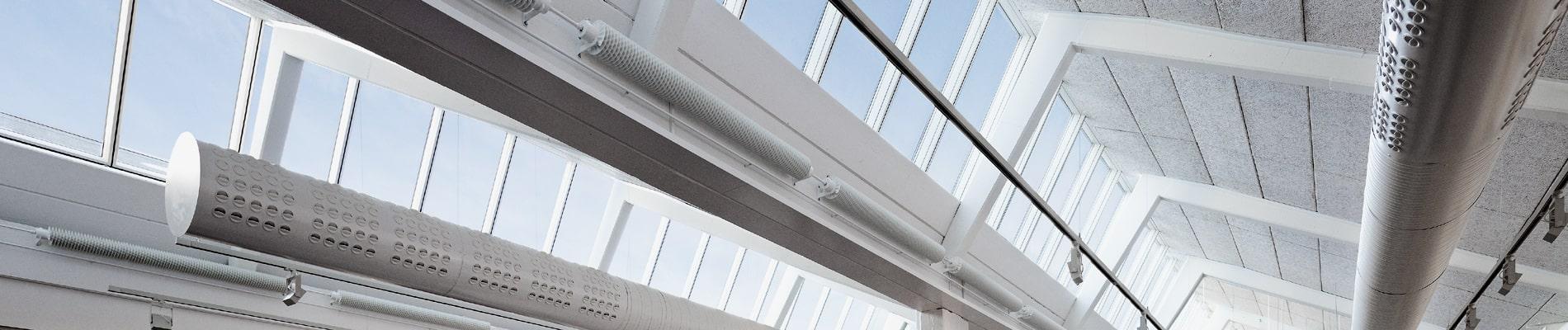 VELUX Modular Skylight Sheddach-Lichtband