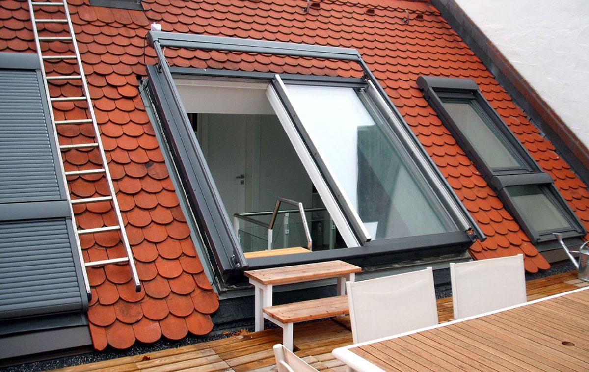 Dachschiebefenster DS mit zwei Fensterflügeln