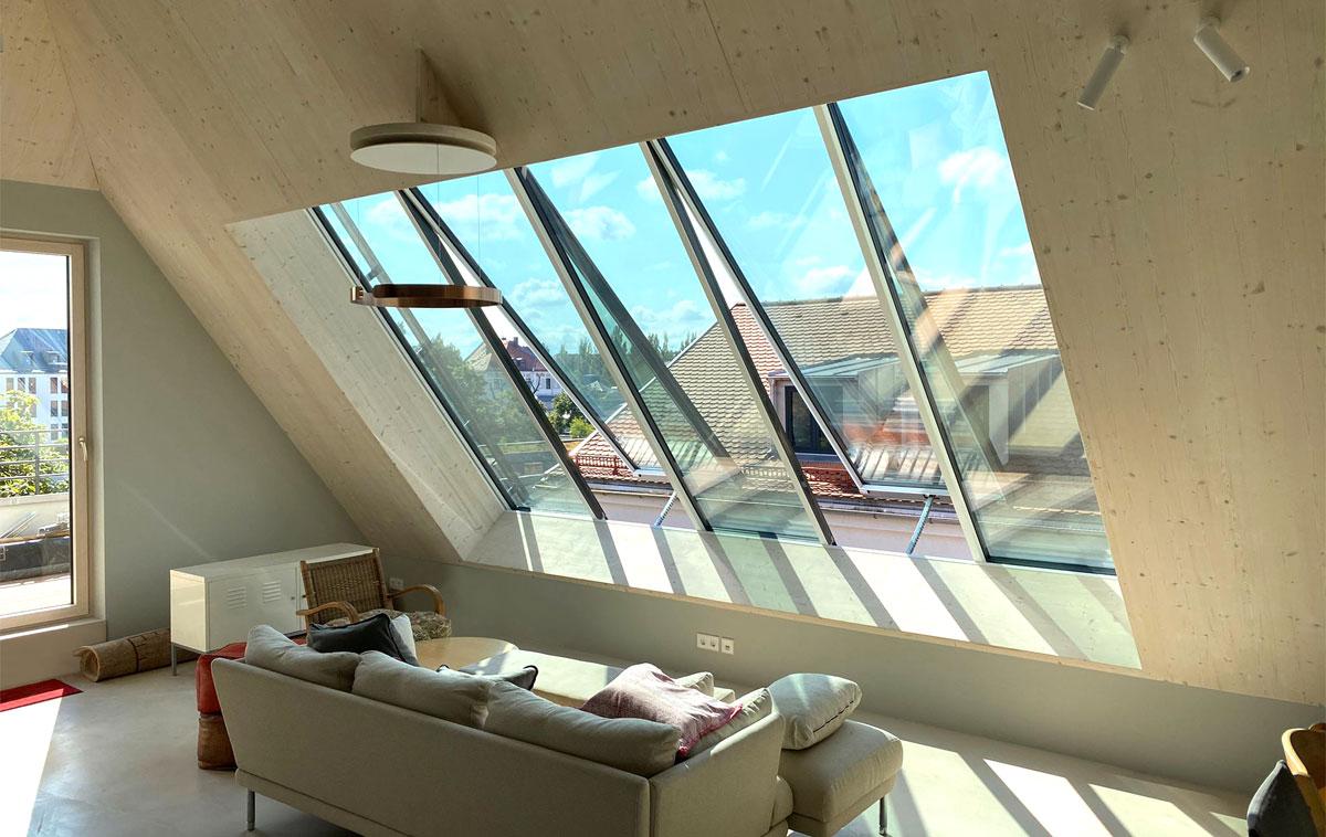 GLASOLUX Panoramafenster für den grandiosen Ausblick